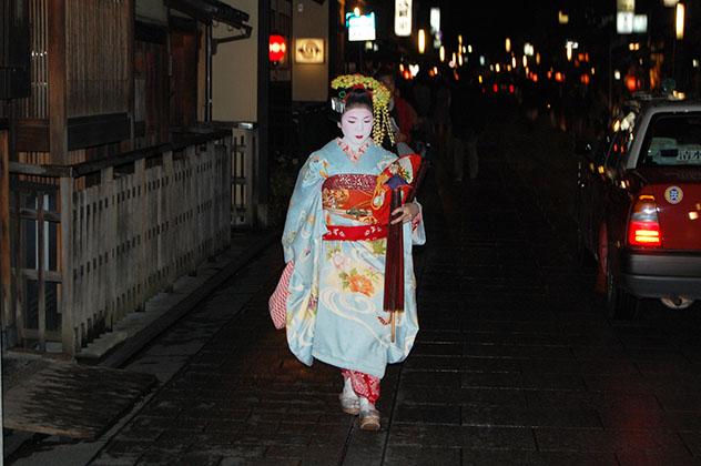 Distrito de Gion en Kioto. Foto © Silvia Lucero
