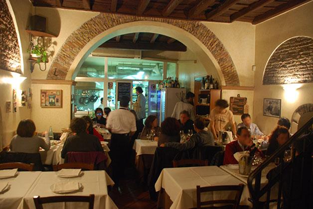 Restaurante Le Mani in Pasta. Foto © Patrick Mreyen