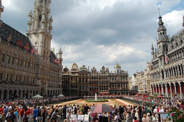 Grand-Place de Bruselas. Foto © Silvia Lucero