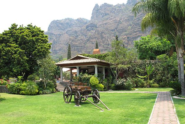 La Buena Vibra Retreat & Spa Hotel en Tepoztlán. Foto © Vicente Casado