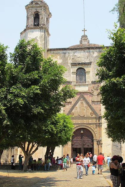 Ex Convento y Parroquia de la Natividad. Foto © Vicente Casado