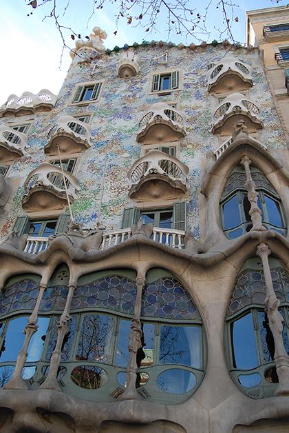 Casa Batlló. Foto © Silvia Lucero
