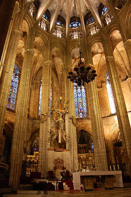 Altar de la Catedral de Santa Eulalia. Foto © Patrick Mreyen