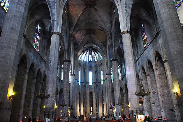 Basílica de Santa María del Mar. Foto © Patrick Mreyen