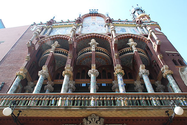Palau de la Música Catalana. Foto © Patrick Mreyen
