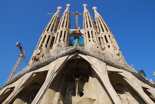 La Sagrada Familia. Foto © Patrick Mreyen