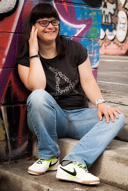 La tipógrafa catalana Anna Vives. Foto: cortesía de Fundación Itinerarium