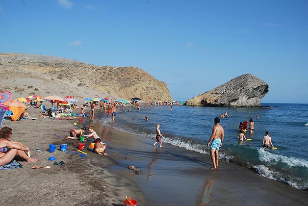 Playa de Mónsul. Foto © Silvia Lucero
