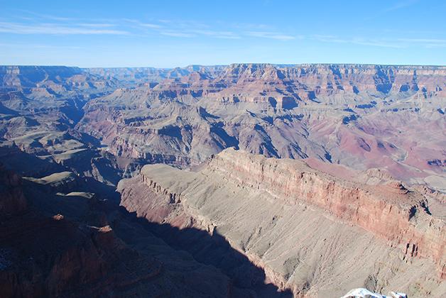 El Gran Cañón del Colorado ¡impresionante! Foto © Patrick Mreyen