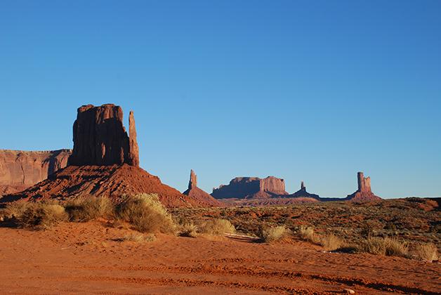 El Valle de los Monumentos en Utah. Foto © Patrick Mreyen