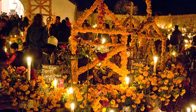 Día de Muertos en Michoacán. Foto © de la página oficial visitmichoacan.com.mx