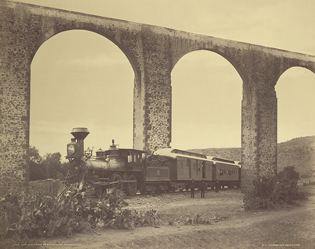 William Henry Jackson, photographer (American, 1843 - 1942)Old Aqueduct at Querétaro, Mexico, about 1886, Albumen silver printImage: 42.9 x 54.3 cm (16 7/8 x 21 3/8 in.) Mount: 55.4 x 70.2 cm (21 13/16 x 27 5/8 in.)The J. Paul Getty Museum, Los Angeles. Digital image courtesy of the Getty's Open Content Program.