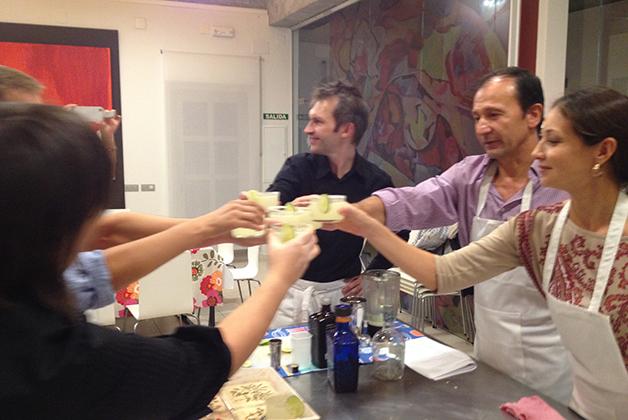 El brindis mexicano con Margaritas. Foto © Silvia Lucero