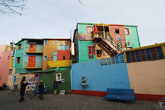 El Caminito en La Boca. Foto © Patrick Mreyen