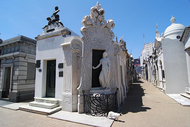 Cementerio de La Recoleta. Foto © Patrick Mreyen