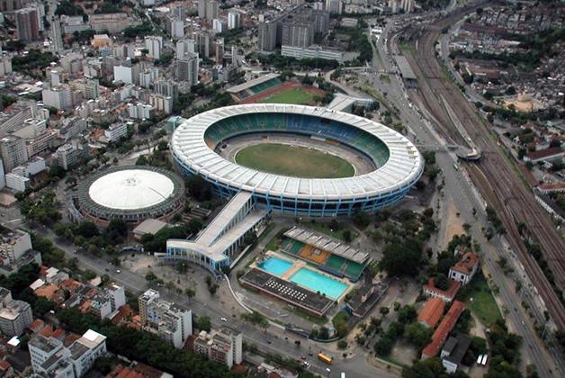 Estadio Maracaná en Río de Janeiro. Foto obtenida de Wikimedia Commons de Peter & Jackie Main