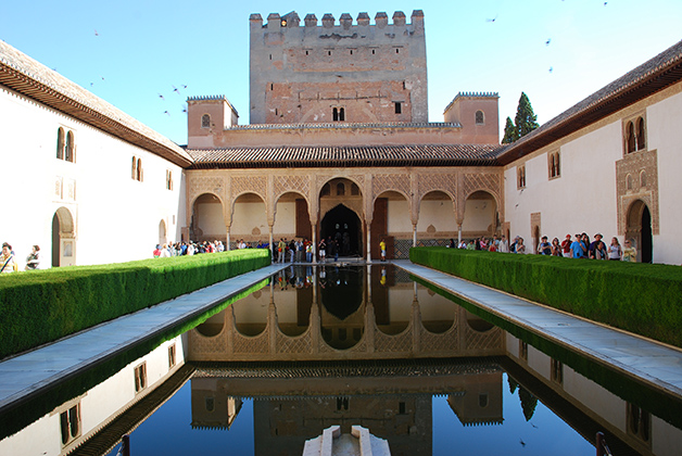 En el Generalife en la Alhambra. Foto © Patrick Mreyen