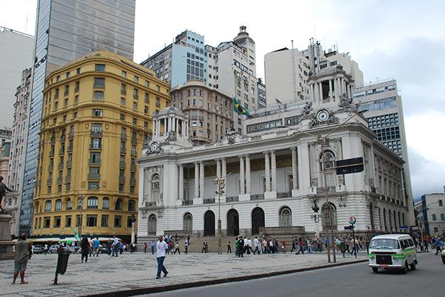 Centro histórico de Río de Janeiro. Foto © Patrick Mreyen