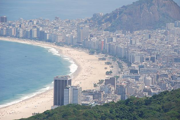Playa de Copacabana. Foto © Patrick Mreyen