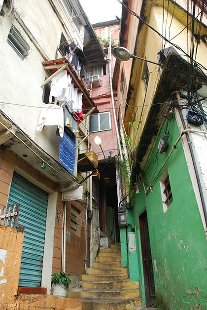 En favela de Río. Foto © Patrick Mreyen