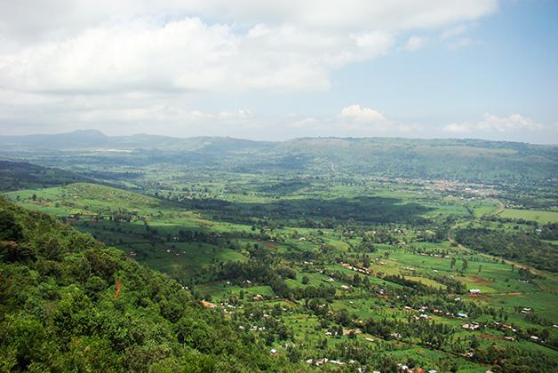 El enorme Gran Valle Rift. Foto © Vanessa Lucero