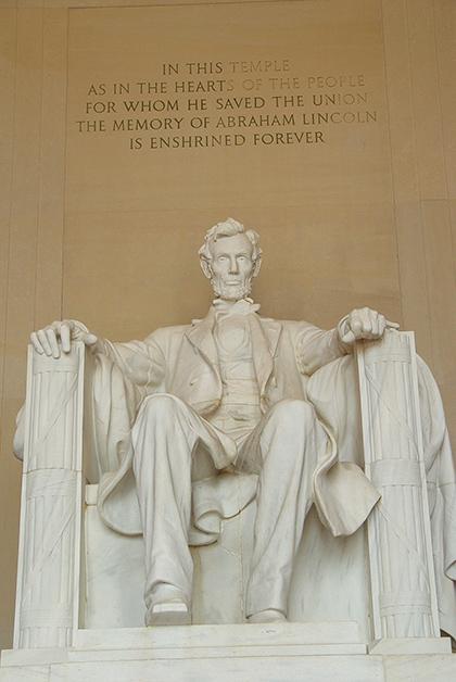 Lincoln Memorial en Washington DC. Foto © Patrick Mreyen