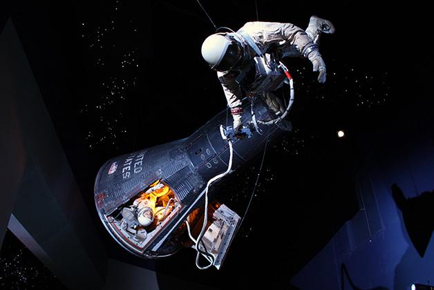 Starship Gallery en la NASA. Foto del Space Center Houston