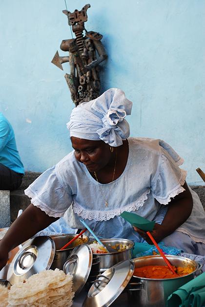 Salvador de Bahía es uno de los lugares donde mejor se come en Brasil. Foto © Patrick Mreyen