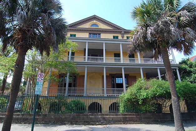 Mansión Aiken - Rhett en Carolina del Sur. Foto © Patrick Mreyen