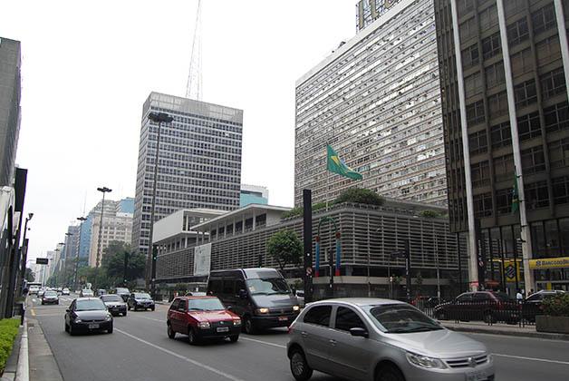 Avenida Paulista. Foto © Silvia Lucero