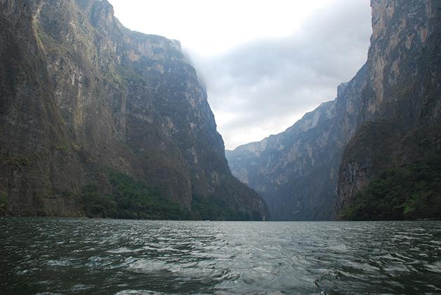 Canón del Sumidero en Chiapas. Foto © Patrick Mreyen