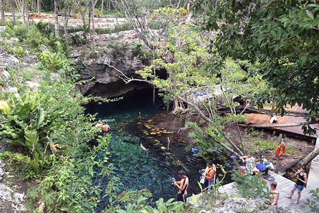 Gran Cenote. Foto © Silvia Lucero