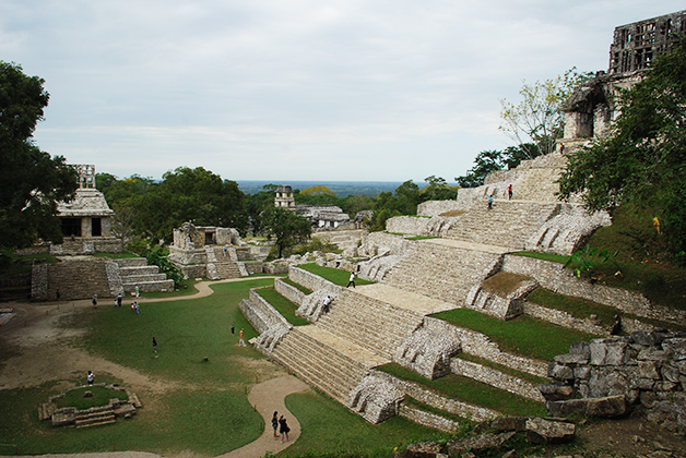 Zona arqueológica de Palenque, Chiapas. Foto © Silvia Lucero