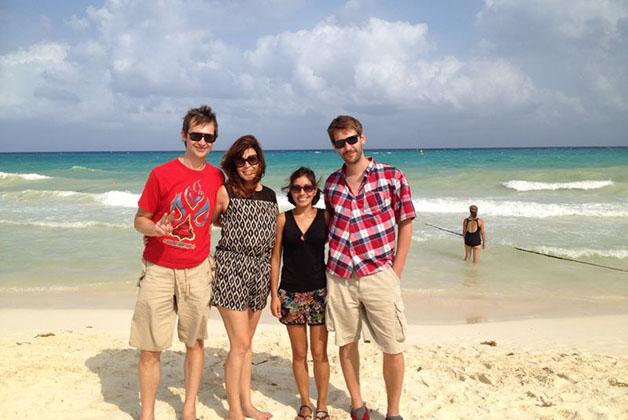 Reunión de blogueros viajeros en Playa del Carmen