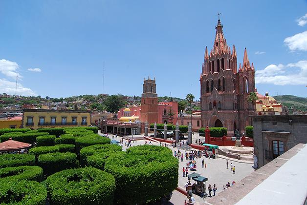 San Miguel de Allende, Guanajuato. Foto © Patrick Mreyen