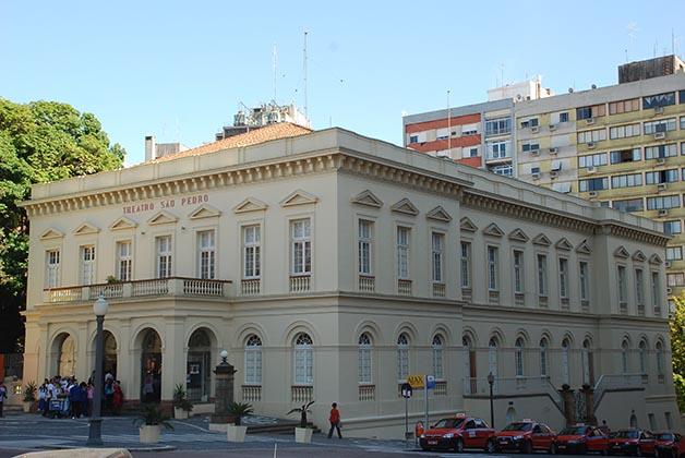 Teatro Sao Pedro. Foto © Patrick Mreyen