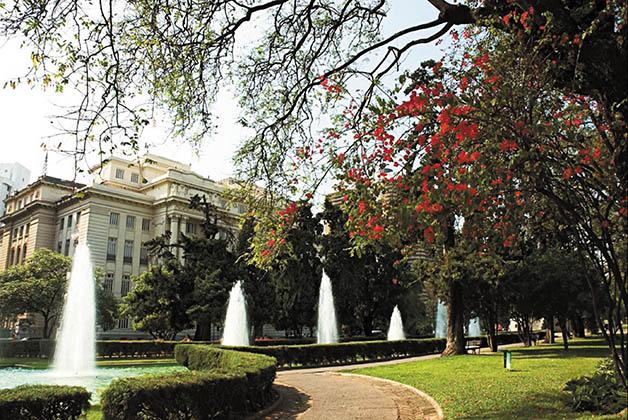 Plaza de la Libertad. Foto de la página oficial del gobierno de Belo Horizonte