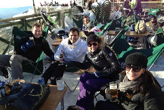 Un viaje de esquí a Sierra Nevada, súper lindo, con grandes amigos de Málaga. Foto © Patrick Mreyen