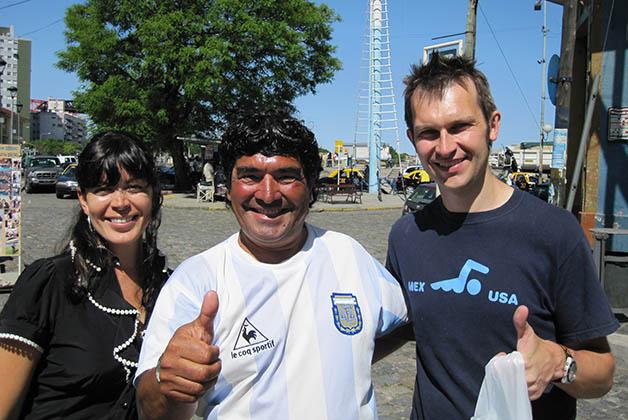 Así que no faltan los 'Maradona'. Foto © Patrick Mreyen