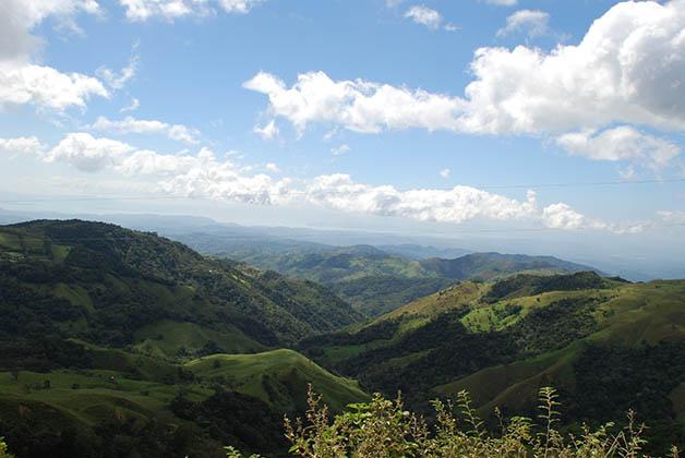 Vista panorámica en Monteverde. Foto © Patrick Mreyen