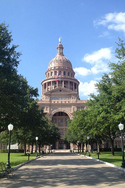 El Capitolio de Texas. Foto © Silvia Lucero