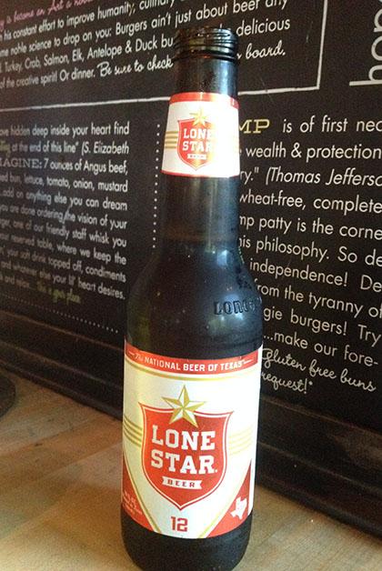 Curiosamente hasta que me mudé a Austin conocí la cerveza de Texas, me gustó bastante. Foto © Silvia Lucero