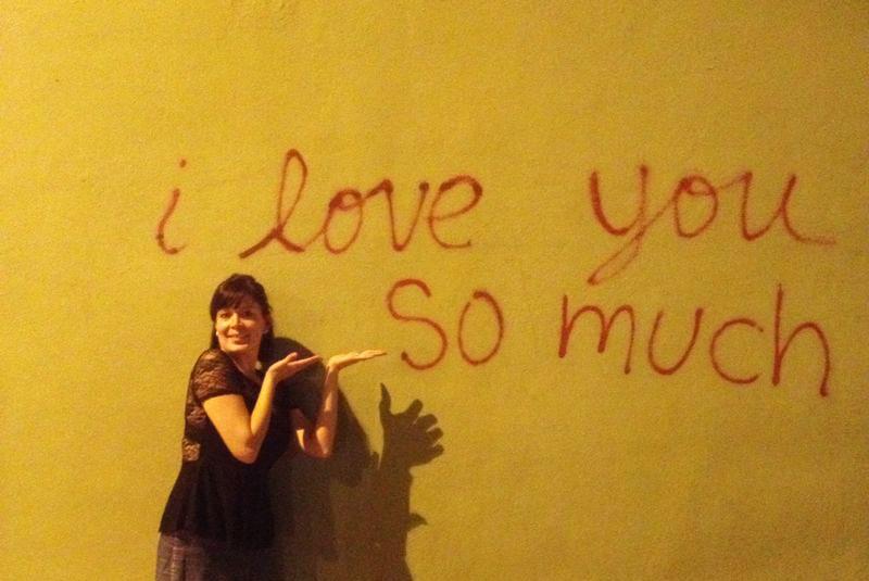 Un mural muy famoso en SoCo, todo mundo se toma fotos ahí. Foto © Patrick Mreyen