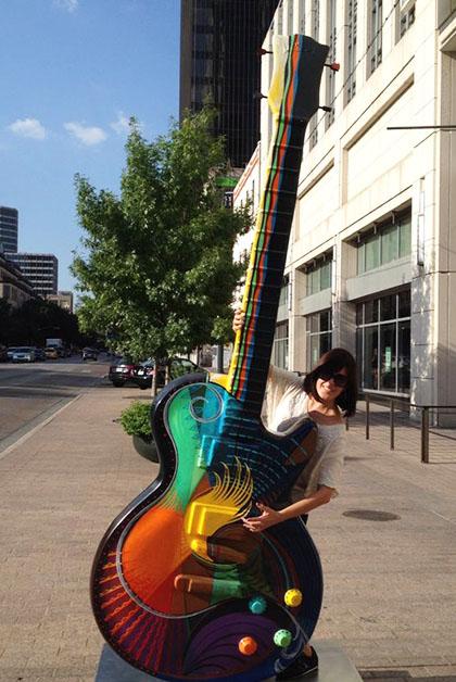 """Austin es """"la capital mundial de la música en vivo"""". Foto © Patrick Mreyen"""