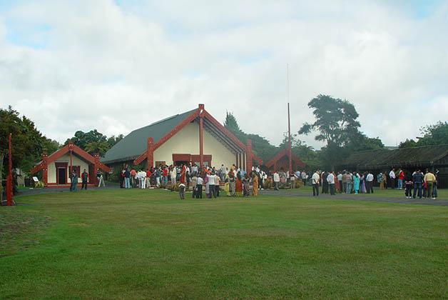 En el centro cultural Tapei Pu puedes aprender más sobre la cultura maorí. Foto © Silvia Lucero
