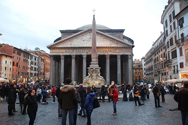 Roma es una de esas ciudades que enamora a cualquiera. Foto © Patrick Mreyen