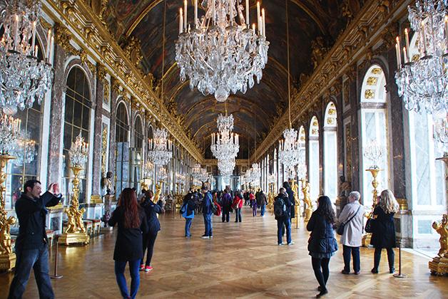 Cuando viajas a París tienes que dejar un día adicional para conocer el impresionante Palacio de Versalles. Foto © Patrick Mreyen