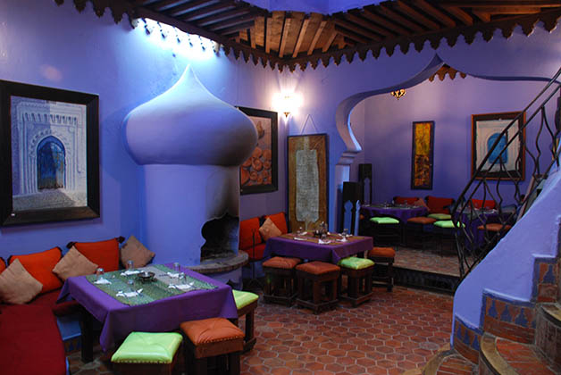 Restaurante Aladdin en la Plaza Uta el-Hammam. Foto © Patrick Mreyen
