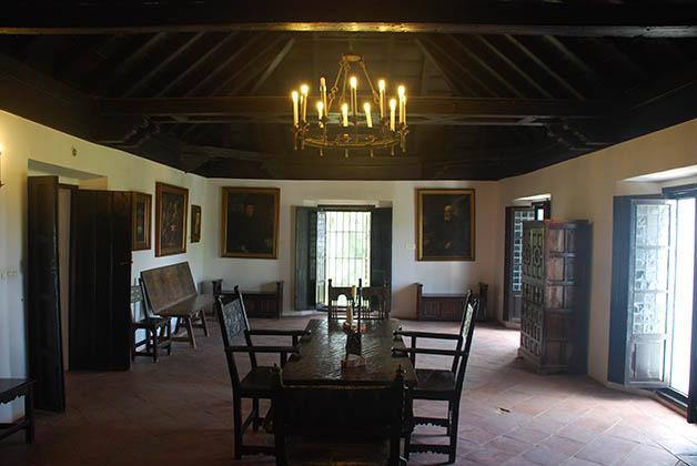 Interior del monasterio donde la historia dio un vuelco enorme. Foto © Patrick Mreyen
