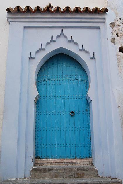 Puerta típica. Foto © Silvia Lucero
